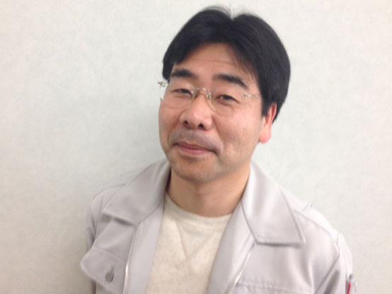 作業指導員の山本直樹さん